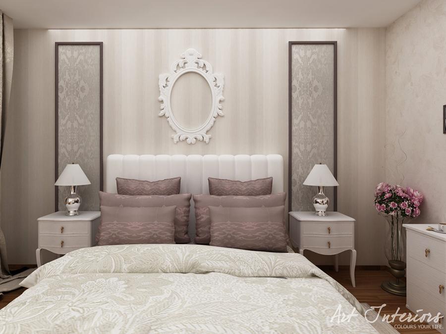 Apartament pentru A: dormitor