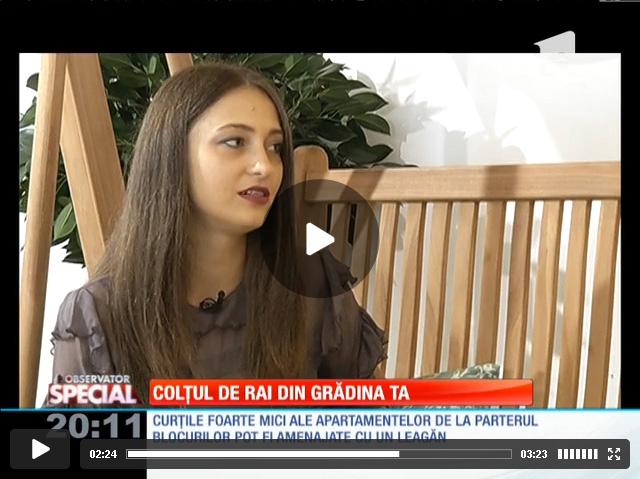 Interview Alexandra Nicula: Colţul de rai din grădina ta