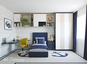 Camera copil Casa M&F - Alexandra Nicula Interior Designer