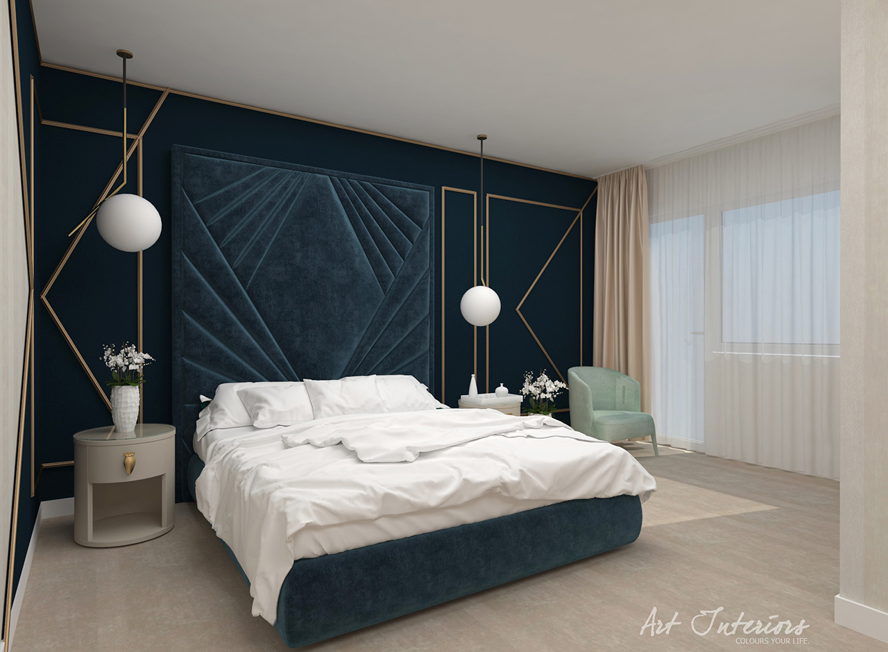 Dormitor Casa M&F - Alexandra Nicula Interior Designer