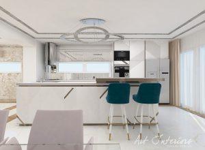Bucatarie Casa M&F - Alexandra Nicula Interior Designer