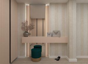 Dormitor si Dressing Casa M&F - Alexandra Nicula Interior Designer