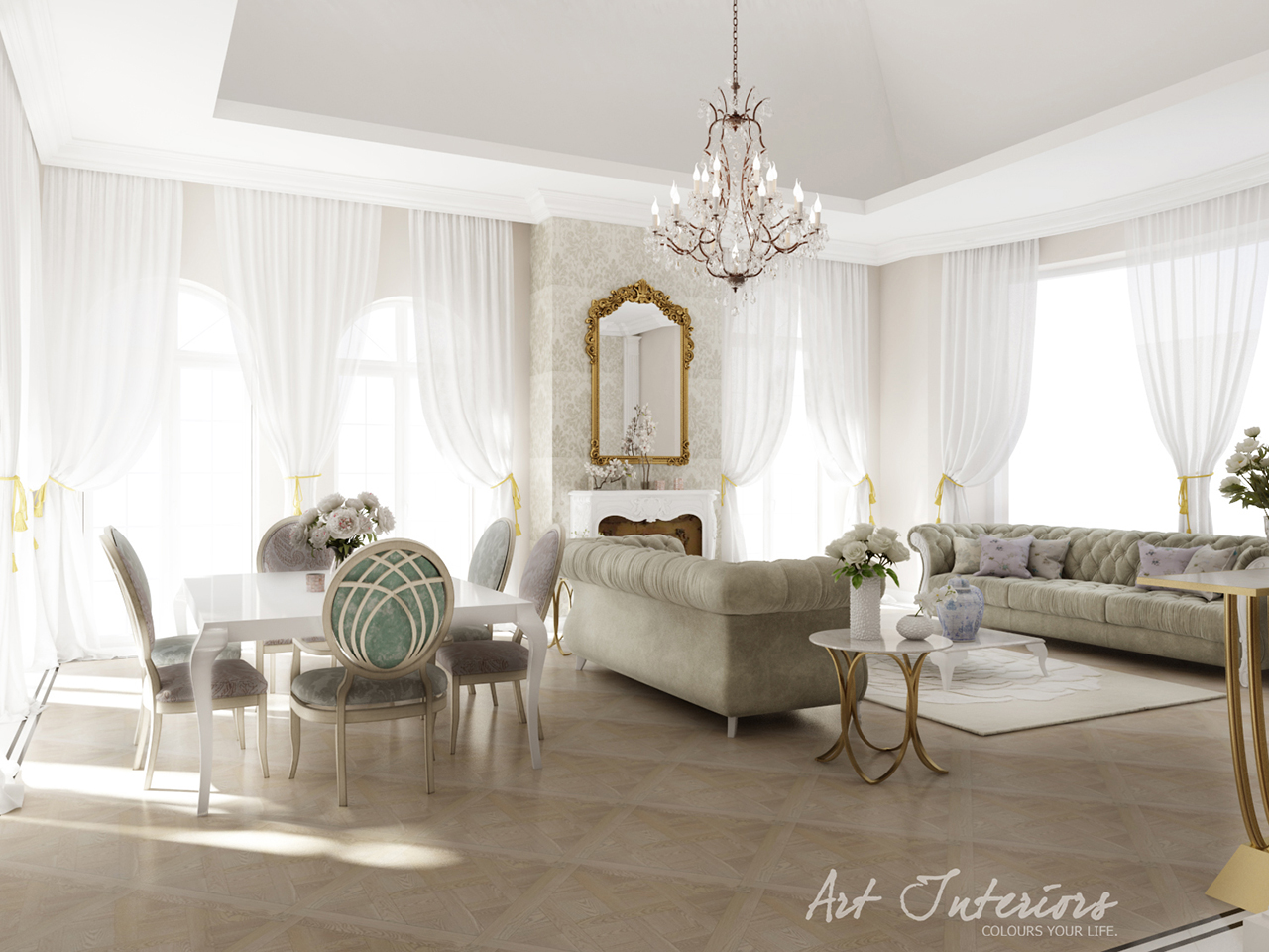 Living - C&R Home - Alexandra Nicula Interior Design