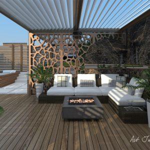 Design terasă penthouse București
