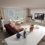 Living apartament pentru B - Alexandra Nicula Interior Designer