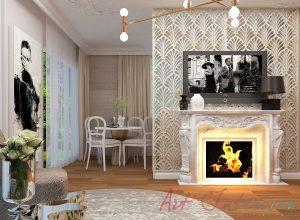 Living apartament D&M - Alexandra Nicula Interior Designer