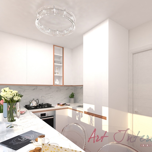 Apartment For A Interior Design Portfolio Art Interiors